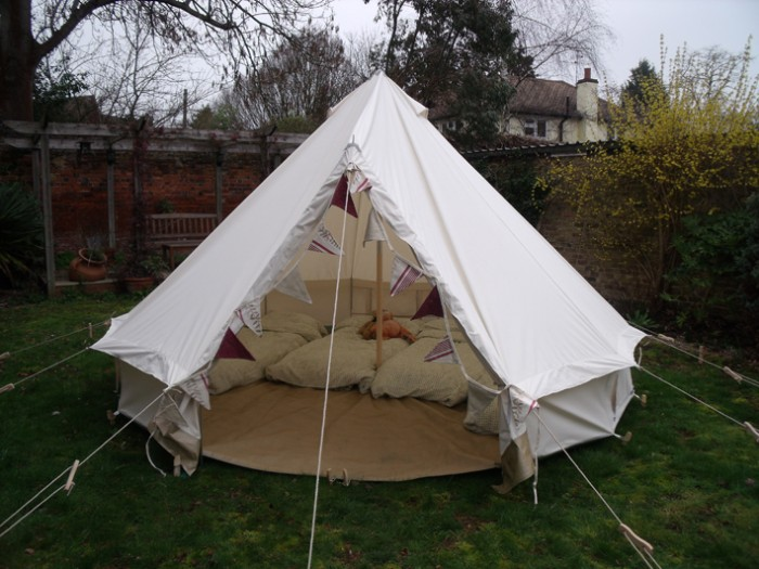 Boutique Cing Bell Tents Image Number 1 Of Luxury Canopy Camping