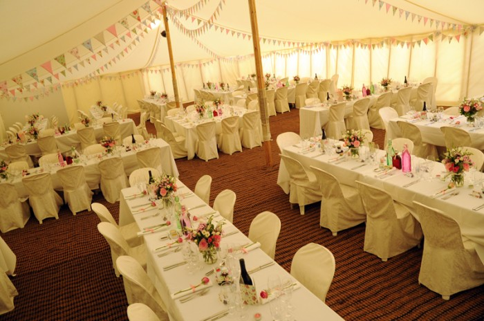 Traditional Canvas Pole Tent And Marquee Hire For Parties