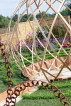 Our wooden structure at Sandringham Flower Show