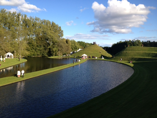 Wedding of Lily & Roger at Garden of Cosmic Speculation 2